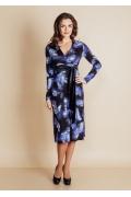 Платье с завышенной талией TopDesign B6 042