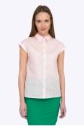 Хлопковая женская рубашка без рукавов Emka B2229/lia