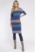 Трикотажное платье в полоску Sunwear OS222-5-53
