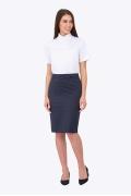 Тёмно-синяя юбка Emka Fashion 656/galina (коллекция 2017)