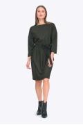 Теплое платье минималистичного дизайна Emka PL750/lagos