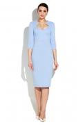 Платье-футляр с фигурным вырезом Donna Saggia DSP-270-76t