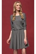 Серое платье Zaps Altea (осень-зима 16/17)