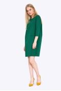 Зеленое платье прямого силуэта Emka PL688/spectra