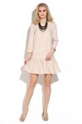 Коктейльное платье с воланом по низу Donna Saggia DSP-245-2