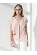 Летняя женская блузка с V-образным вырезом Sunwear I12-2