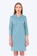 Прямое хлопковое платье Emka Fashion PL-571/esmira