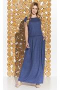 Длинное трикотажное платье Zaps Valery (весна-лето 2018)