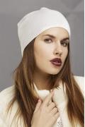 Белая шапка-колпак SuperShapka Интер