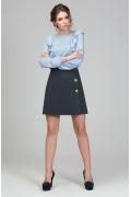Мини-юбка трапеция Donna Saggia DSU-38-17