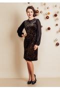 Изысканное вечернее платье TopDesign Festive NB6 07