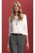 Белая блузка Zaps Sarina