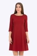 Красное платье Emka Fashion PL-532/festina