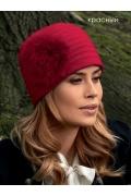 Женская шапка с помпоном Landre Alga2