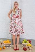 Летнее платье без рукавов TopDesign A8 061