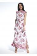 Длинное лёгкое летнее платье из хлопка Ennywear 250200