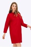 Короткое платье ярко-красного цвета Emka PL812/bendigo