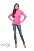 Розовая водолазка Conso Wear KWTS160707