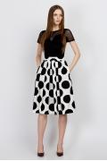 Расклешенная юбка Emka Fashion 532-gravanda