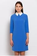 Платье с белым воротником Emka Fashion PL-440/rouz