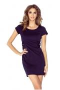 Летнее тёмно-синее платье Morimia 010-1