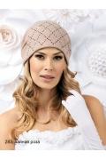 Стильная женская шапка из шерсти Landre Halkana