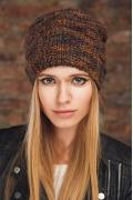 Молодёжная стильная шапка SuperShapka Haley 2