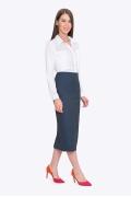 Женская облегающая юбка Emka 501/sax