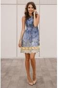 Джинсовое кружевное платье Donna Saggia DSP-52-51