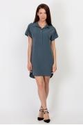 Стильное платье-рубашка PL-508/roksi