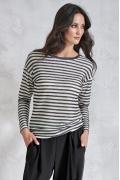 Трикотажная блузка в полоску Sunwear V28-5-57