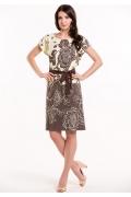 Летнее трикотажное платье Remix 7294