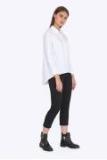 Чёрные укороченные брюки Emka D-029/alessia