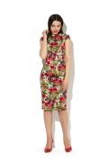 Летнее платье-футляр Donna Saggia DSP-180-66