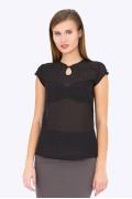 Лёгкая шифоновая блузка Emka b 2143/filareta