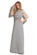 Длинное платье с кружевным поясом Donna Saggia DSP-273-80