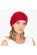 Красная женская шапка польского производство Willi Misi