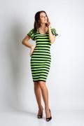 Летнее платье из крапивы TopDesign A4 005