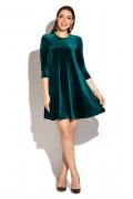 Короткое бархатное платье Donna Saggia DSP-271-35t