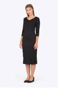 Чёрное платье Emka Fashion PL-528/giacinta