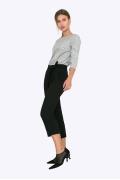 Женские укороченные брюки с бантом Emka D062/lenora