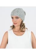 Женская шапка серого цвета Kamea Violeta