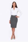 Утепленная юбка Emka Fashion 648-milana
