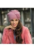 Шапка тёмно-розового цвета Kamea Emiliana