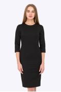 Приталенное хлопковое платье Emka Fashion PL-595/selita