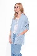 Голубой летний кардиган Sunwear W03