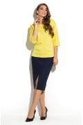 Жёлтая блузка Donna Saggia DSB-35-54t