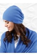 Шапка синего цвета Kamea Frascati