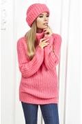 Женский свитер розового цвета Andovers Z284