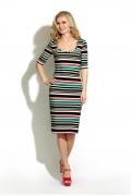 Платье в полоску Donna Saggia DSP-13-55t